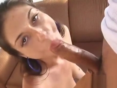 Big Cock Excites Filthy Slut To Start A Very Fucking Session