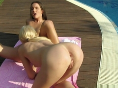 Incredible pornstar Lindsey Olsen in Best Outdoor, Fingering adult movie
