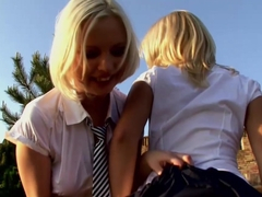 Fabulous pornstar Lolly Blond in Best College, Outdoor xxx movie