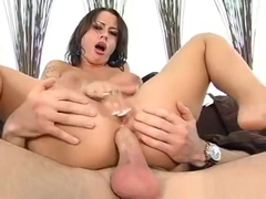 Perverted Guy Licks And Bonks Pussy Of One So Sweet Chick