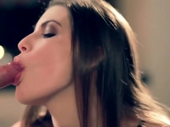 Passionate Blowjob Experience With Horny Milf
