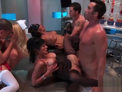 Raunchy Orgy Action Starring Naughty Bimbos
