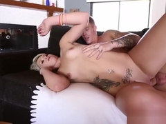Cute Petite Blonde Teen Dani Desire Gets Fucked