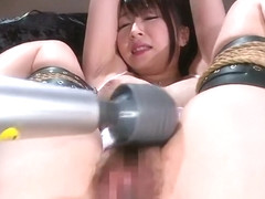 Teasing Japanese young whore Arisa Misato blows the dick