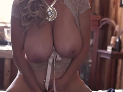 KELLY MADISON Country Lace Anal Play