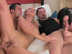 Deepthroat porn video featuring Helena Sweet, Bridget Jolie and Renato