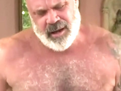 junior guy fucks hairy daddy bear