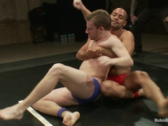 NakedKombat Trent Diesel and Sebastian Keys vs Leo Forte and DJ Live Audience Tag Team Match