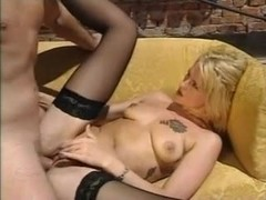 Angelica Wild Black Stockings Sex