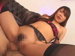 Horny Japanese whore Yuna Hoshi, Runa Anzai in Exotic Group Sex, Lingerie JAV clip