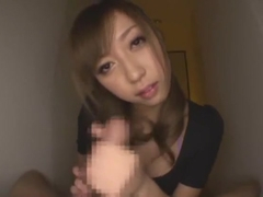 Hottest Japanese whore Kaori Sakura in Fabulous Dildos/Toys, Stockings JAV clip