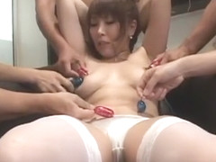 Best Japanese model Ruru Anoa in Hottest Big Tits, Stockings JAV scene