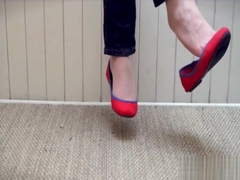 red flats dangling (oldvideo)