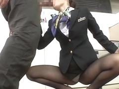 Japan Stewardess training 12