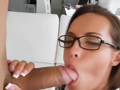 PAWG Kelsi Monroe Bouncing On a Big Dick in Schoolgirl Outfit