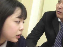 Sexy Schoolgirl Gets a Facial at School - JapanHDV