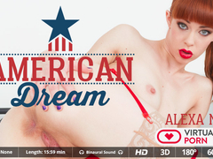 Alexa Nova in American dream - VirtualRealPorn
