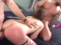 Hot Babes Get Fucked Deep And Sticky Facials