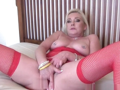 Step-Mommy Masturbates as Her Step-Sons Watch