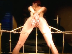 Lovely foxy Patricia Gold acting in amazing BDSM porn