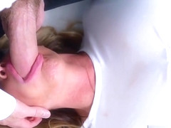 KELLY MADISON Straight Jackin' It For Double Cumshot