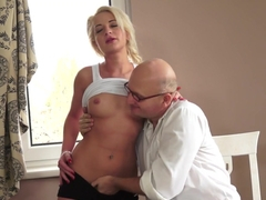 Exotic pornstar Anastasia Blonde in Best Blonde, Cunnilingus adult clip