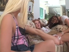 Crazy pornstars Melissa Lauren and Audrey Hollander in incredible anal, big tits sex video