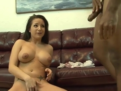 Desirable Babe And A Big Black Cock