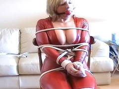 catsuit chairtied