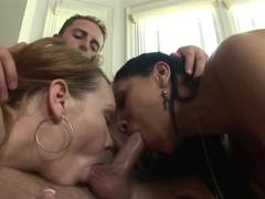 Exotic pornstar Amber Cox in Crazy Group sex sex video