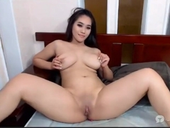 NAKED BUSTY Indonesian Chinese-girl 4