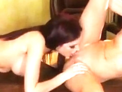 Excellent porn video Pussy Licking hottest watch show