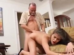 Teen Jeleana Marie Gets Bent Over And Jizzed On The Face