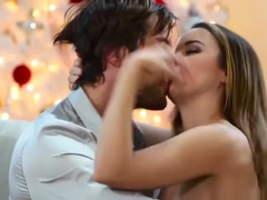 Dillion Harper Gags While Deepthorating A Big Hard Cock