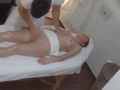 Pleasing female having an amazing massage fuck