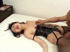 Asian Bondage Babes Toy On Leather