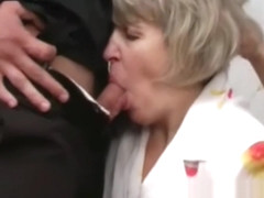 Mommy Gets fucked by her son and her friend son hard and fast HOMEMADE