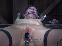 Restrained Sub Fucked Roughly And Pussytoyed