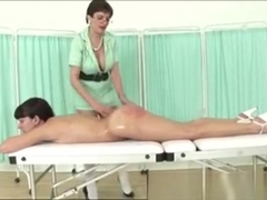 Lady Sonia Rubs Hot Babe In Fetish Massage