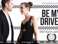 Juan Lucho  Kristy Black in Be my driver - VirtualRealPorn