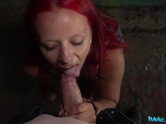 Martin Gun & Tiffany Love in Redhead Fucked in the Shade - FakeHub
