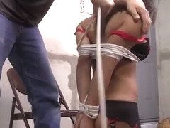 Chichi School Girl Tied