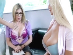 London River and Cory Chase in Grandma Approves Foursome