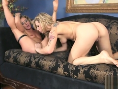 Blonde Lesbians Sheena Shaw And Bailey Blue