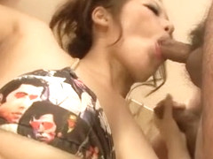 Meisa Hanai blows and strokes  - More at Japanesemamas.