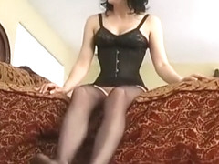 Jean Bardot-Stocking Foot Job part 2