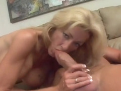 Gorgeous Emily Loves Sucking Down Her Mans Dong