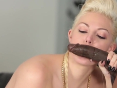 Cute Blonde Gal Jenna Ivory Gets Drilled By BBC