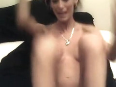 Sexy Cop Pounds Her Pussy And Ass On Cam