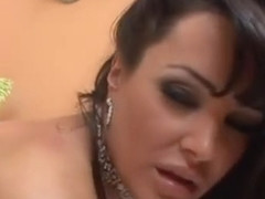 Lisa Ann gets an oiled up massage and then she gets a good fuck